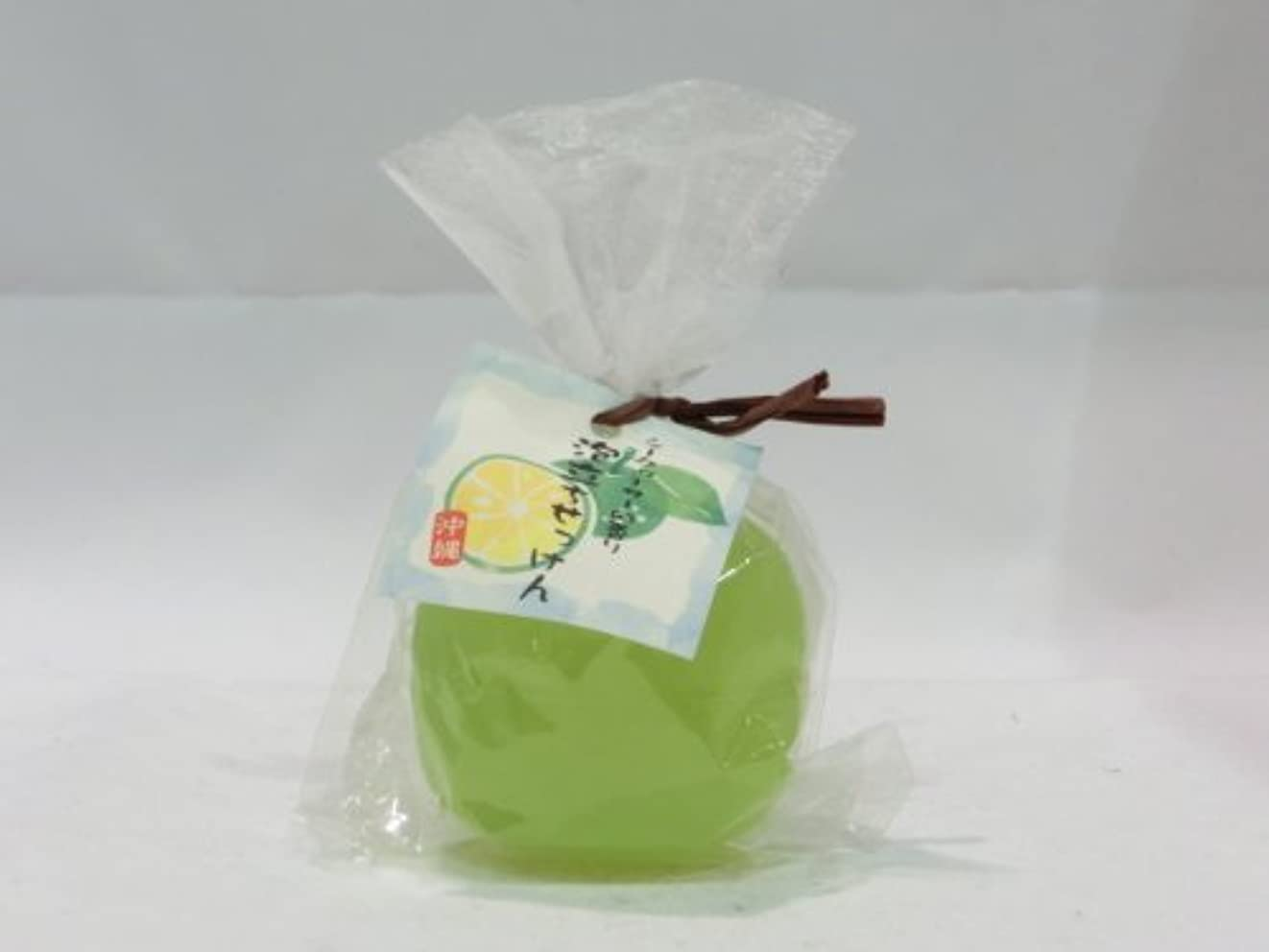 感性表面的な副【沖縄】 シークヮーサーの香り 泡立ちせっけん (88g)