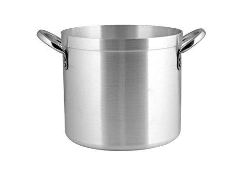 PARDINI Alluminio albergo Cilindro 2 Manici 10 Pentole Cucina, Acciaio Inossidabile