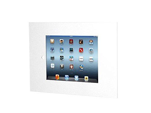 TabLines TWE054W Tablet Wandeinbau für Apple iPad Air 2, Homebutton zugänglich, weiß