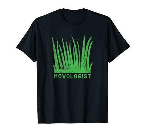 Mowologist Cortacésped Cortacésped Cortacésped Hierba Jardinería Herramientas Engranaje Camiseta