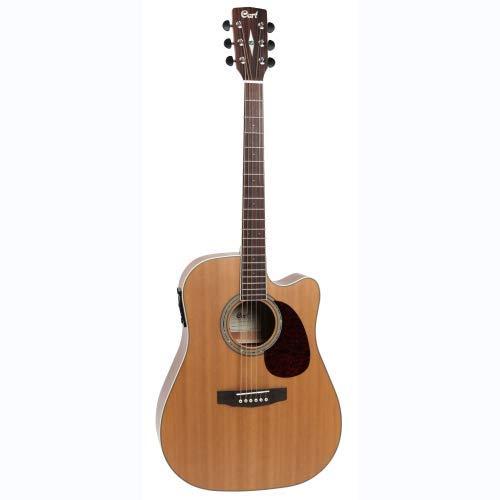 Cort Mr710 F - Guitarra electroacústica de cedro natural