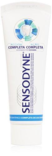 Sensodyne Acción Completa - Pasta de dientes con Flúor para dientes sensibles - 75 ml