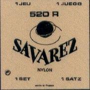 CUERDAS GUITARRA CLASICA - Savarez (525R) Carta Roja 5ェ (Minimo 10 Unidades)