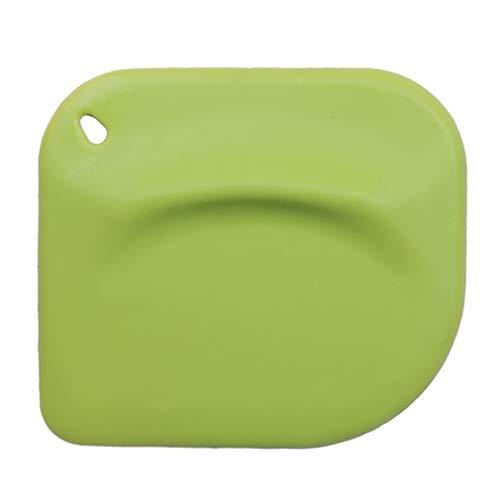 1 pezzi Verde Spatola in silicone Torta Burro Crema Miscelazione della Pastella Cucinando Raschietto da Forno Strumento Bakeware di SamGreatWorld