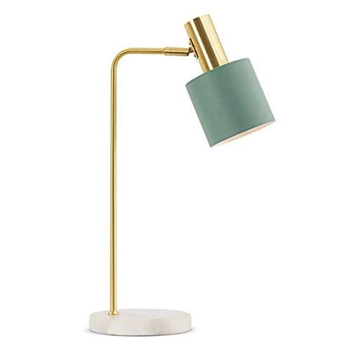 Lámpara de Mesa de Iluminación Decorativa Interior E27 lámpara de mesa minimalista moderno del metal, titular de la lámpara ajustable, lámpara de mesa retro, interruptor de botón, conveniente for el d
