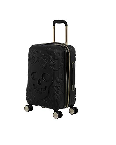 it luggage Skulls II Hardside Expandable Spinner, Black, Carry-On 21-Inch