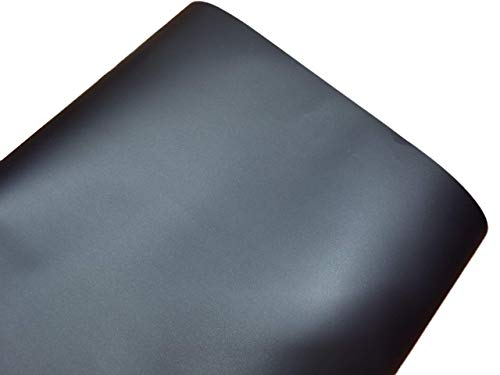 Black Matte Car Wrap Vinyl Roll with Air Release Easy to Install No Mess (1ft x 10ft)