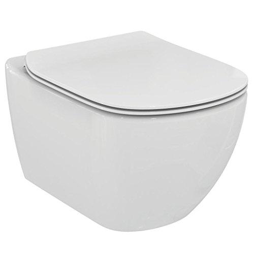 Ideal Standard serie Tesi New T3547 Vaso sospeso acquablade con sedile bianco