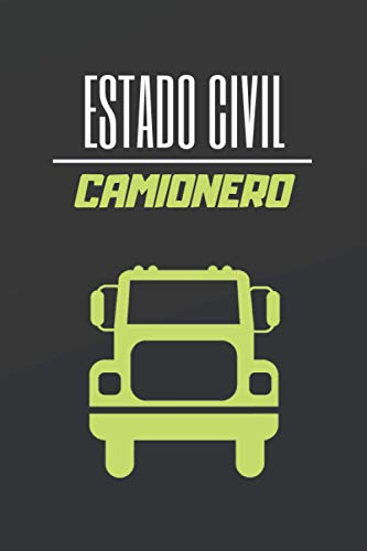 ESTADO CIVIL CAMIONERO: CUADERNO DE NOTAS. LIBRETA DE APUNTE