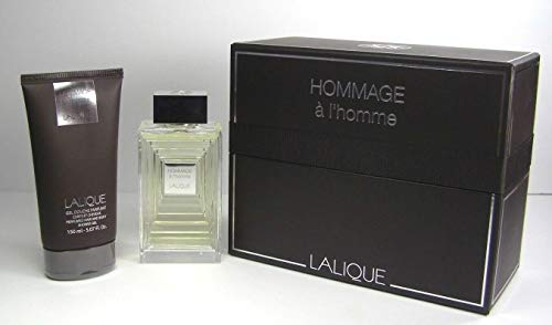Lalique Hommage Man Cadeauset 100Ml Edt + 150Ml Douchegel