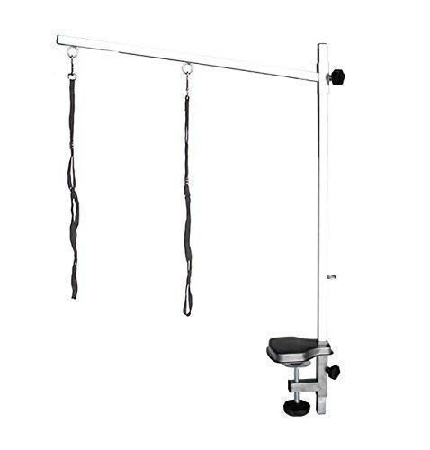Pedigroom Stainless Steel Dog Grooming Arm With Noose And Clamp 60 x 90cm
