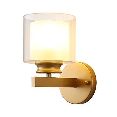 LMJ Lámpara de Pared Moderna Minimalista Dormitorio Cama Accesorio de iluminación de la lámpara de Pared de la lámpara Habitación