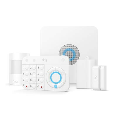RING INC 4K11S7-0EN0 Smart Alarm Home Kit - Quantity 4