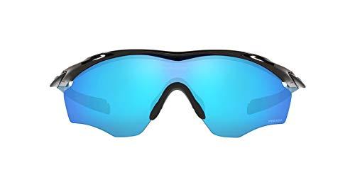OO9343 M2 Frame XL Sunglasses, Polished Black/Prizm Sapphire, 45mm