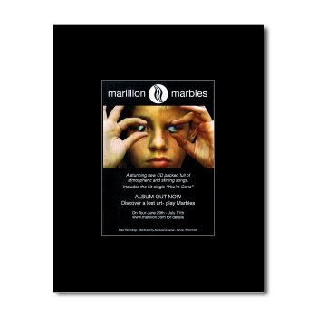 MARILLION - Marbles Matted Mini Poster - 13.5x10cm