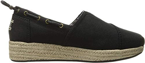 Skechers Women's Highlights-Set SAIL Espadrilles, Black (Black Blk), 6 (39 EU)