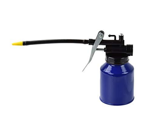 Aceitera Metálica - Bomba de Aceite Manual - Boquilla Flexible - 250ml