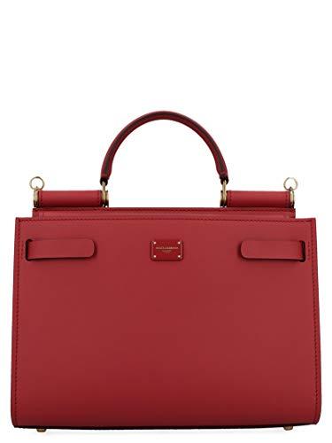 DOLCE E GABBANA Luxury Fashion Damen BB6625AV38587124 Rot Leder Handtaschen   Jahreszeit Permanent