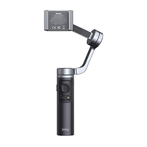 WZHZJ 3 Axis Gimbal Estabilizador para la cámara de acción telefónica Pandheld Selfie Stick Stabilizer trípode para teléfono Inteligente