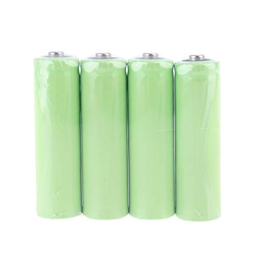 tegongse AA Dummy Fake Battery Setup Shell, Placeholder Cylinder Conductor (4 Pack)