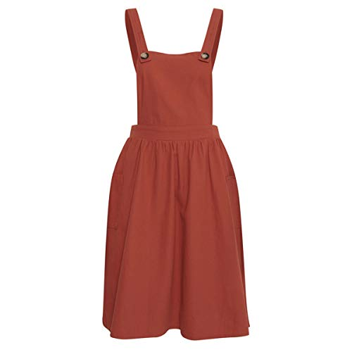 BlendShe Damen BSCALLIE R DR Kleid, Rot (Mango 20540), Medium (Herstellergröße: M)
