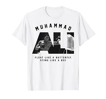 Muhammad Ali Sting like a Bee Boxing T-Shirt