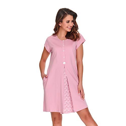 dn-nightwear Louisa - Camisón para mujer (para embarazo y lactancia) Papaya 20.1 L