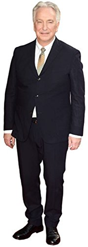Celebrity Cutouts Alan Rickman Pappaufsteller lebensgross