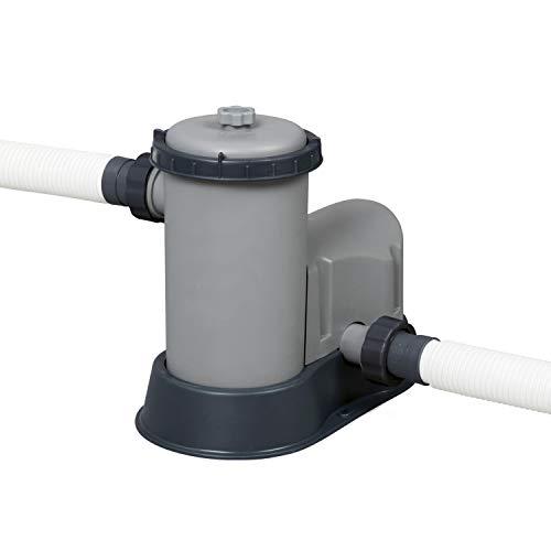 Bestway Flowclear Pompa per Piscina, Grigio