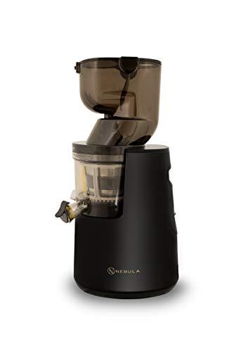Nebula Grande Whole Fruit Cold Press Slow Masticating Juicer 45RPM 5 Year Warranty (Black)