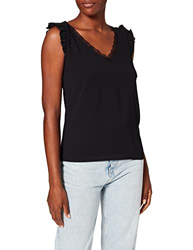 Naf Naf Birgita SM Camiseta, Negro, XL para Mujer