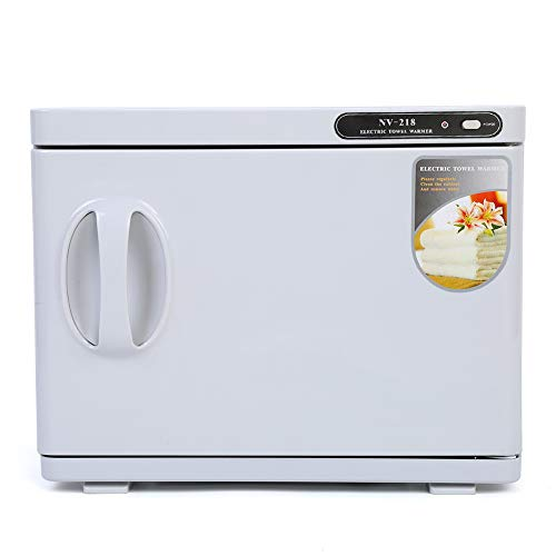Esterilizador de cabina UV esterilizador, 23 L, esterilizador, calentador de toallas UV, armario para uso de belleza, salón, spa, casa, EU 220 V