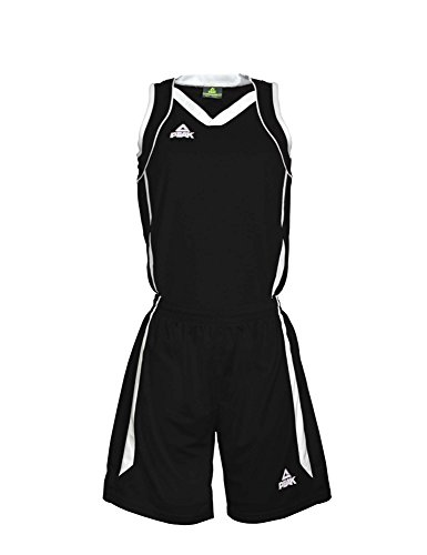Peak Damen Trikot Set in sportlichem Design Black-White, 3XL