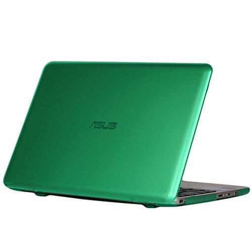 mCover Licht Hartschalentasche für 11,6-Zoll ASUS Vivobook E200HA / EeeBook X205TA / F205TA Serie (Grün E200HA/X205TA/F205TA)