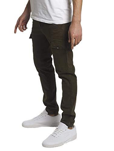 Reell Jeans Mannen Cargos Jogger Cargo Olijf W 32 l 32
