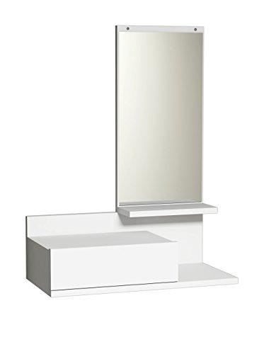 Homemania Mobile Ingresso Mode, PVC, Bianco, 60x29,8x80 cm
