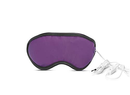 zhangchao Beheizte Augenmaske Gegen Augenstress,Heiße Tragbare Elektrische Heizkissen Für Augen,USB-Schlafmaske,Einstellbare Temperatur-Zeitsteuerung