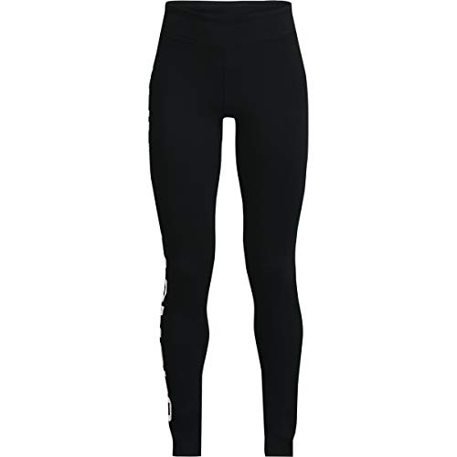 Under Armour Leggings Deportivos para Mujer, Color Negro, Talla XL
