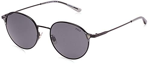 Ralph Lauren POLO 0PH3109 Gafas de sol, Demi Shiny Black, 53 para...