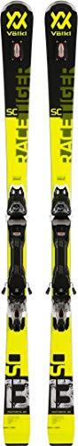 VÖLKL RACETIGER SC Ski 2020 black inkl. VMOTION 10 GW Bindung black/white, 165