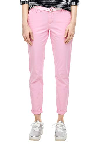 s.Oliver Damen 120.10.002.18.180.2040349 Hose, Light pink, 40/L32