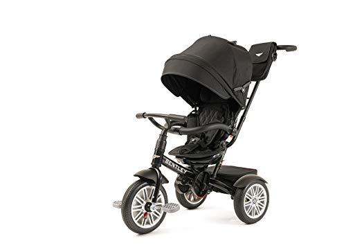 Bentley Toddler Stroller/Trike (Onyx Black)