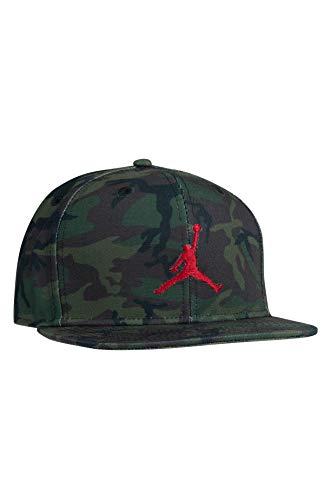 Nike Jordan - Gorra para niños grandes retro Jumpman Snapback (8/20, camuflaje)