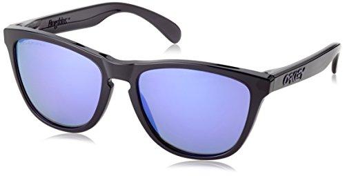 Oakley - Sonnenbrille FROGSKIN - Lunettes De Soleil mixte adulte, Noir (Black Ink), One Size