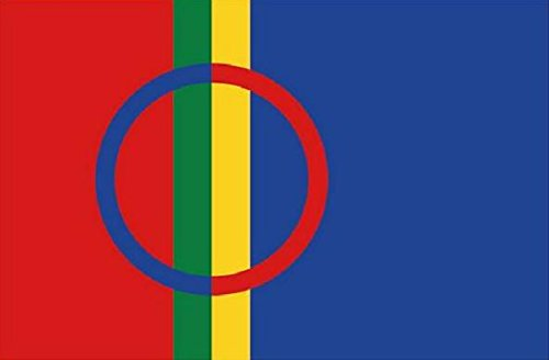 U24 Fahne Flagge Samen Lappland 90 x 150 cm