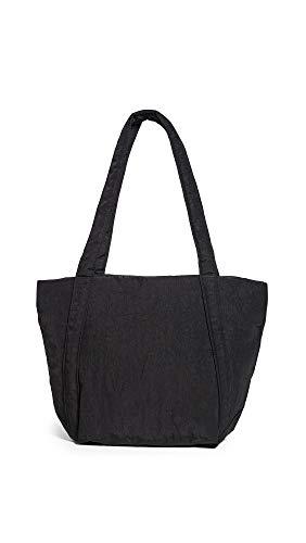 BAGGU Mini-Cloud Tasche, leicht, Nylon, tragbar, für Reisen oder den täglichen Gebrauch, schwarz (Schwarz) - 7-42377-36813-9-A