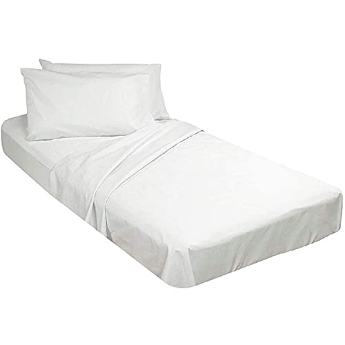 Sheets for Cot Bunk Bed-Cot Size Mattress Sheets-Fitted Cot Sheet Perfect for Narrow Twin/Cot Size/Rv Bunk/Guest Bed Replacement/30 X 75