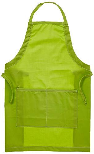 A Greener Kitchen Boy's Organic Cotton Full Apron Lime Green