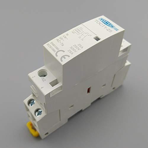 Contactor Modular 2NO carril Din hogar ac 220/230V (25A)
