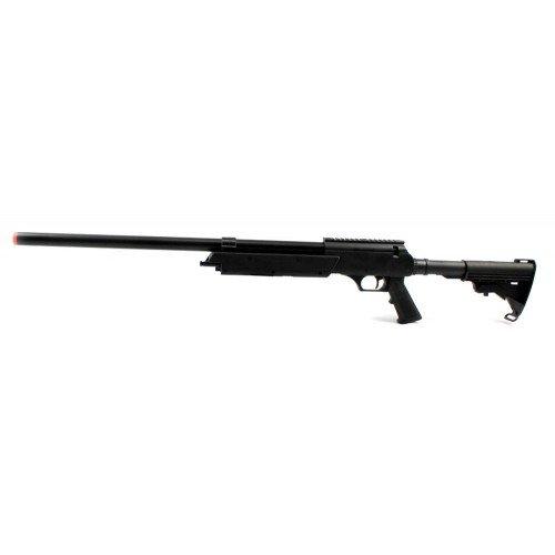 spring powered bolt action well mb06a sniper rifle fps-550 metal airsoft gun(Airsoft Gun)